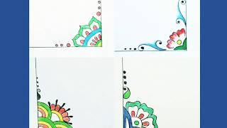 simple corner designs - Kênh video giải trí dành cho thiếu ...