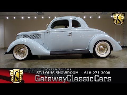 Video of 1936 Ford 5-Window Coupe - $57,000.00 Offered by Gateway Classic Cars - St. Louis - LED7