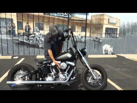 2012 Harley-Davidson Softail Slim, Bobber Style!