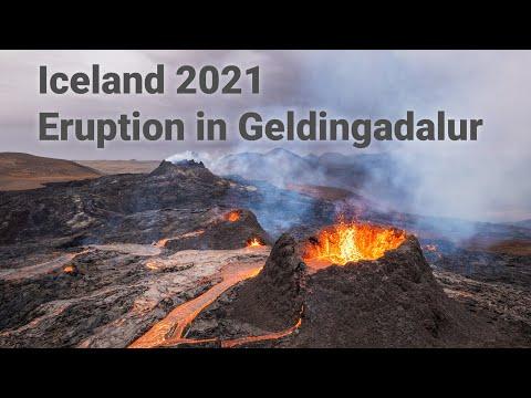 Vulkanausbruch Geldingadalir