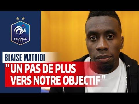 La réaction de Blaise Matuidi, Equipe de France I FFF 2019