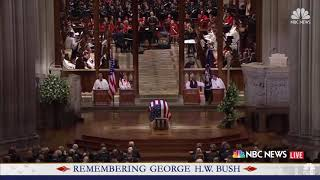 """Michael W. Smith sings """"Friends"""" at President Bush's Funeral"""