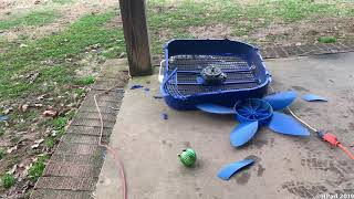 Lasko Cool Colors Box Fan Destruction