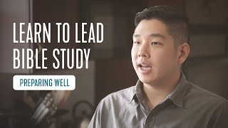 Preparing - How to Lead Bible Study | InterVarsity