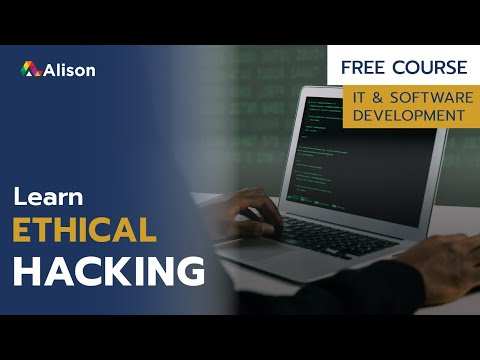 Ethical Hacker- Free Online Course with Certificate - YouTube
