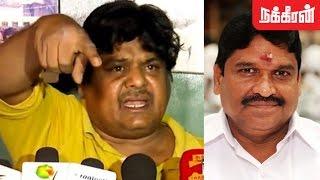 கேவலமா இருக்கு Mansoor Ali Khan Against ADMK MC Sampath For His Annoying Statement