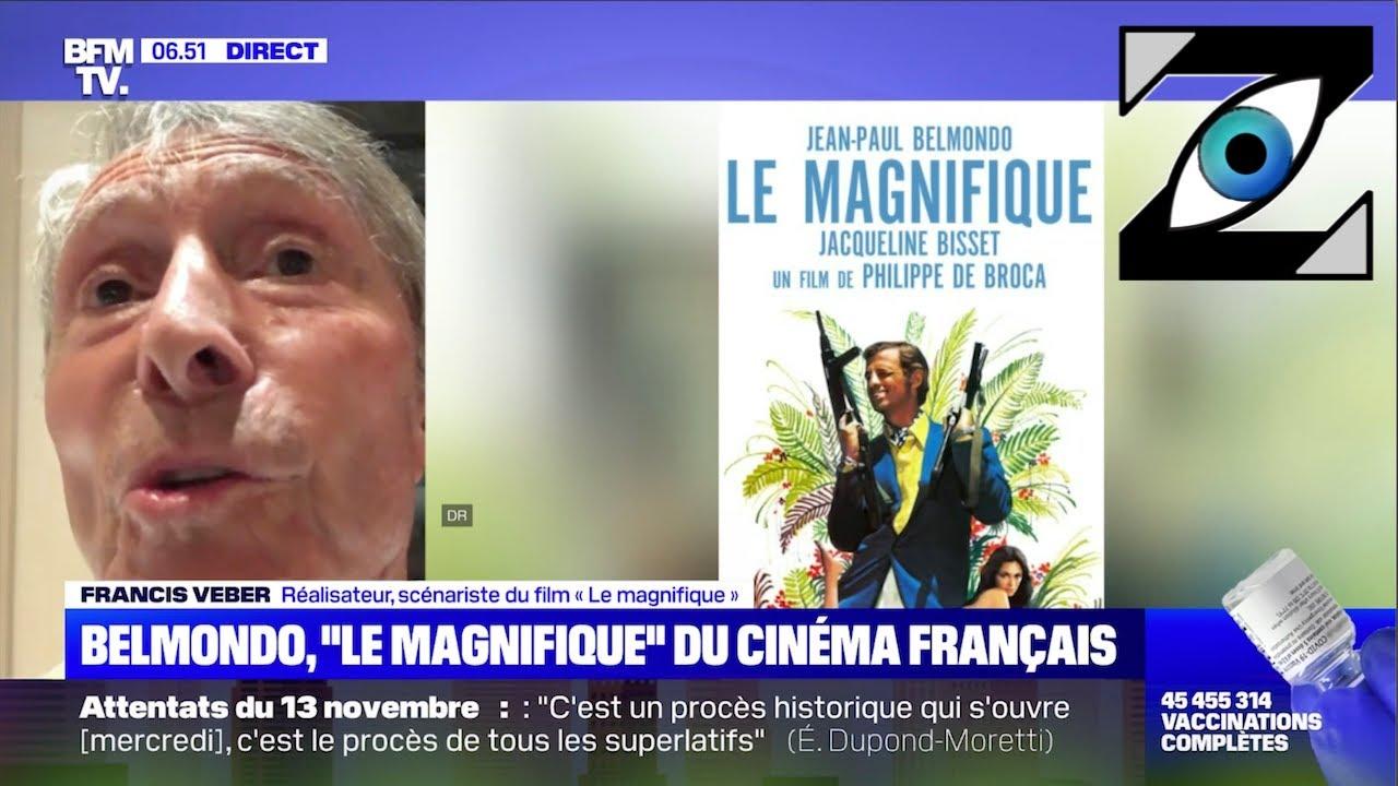 [Zap Télé] L'anecdote surréaliste de Francis Veber à propos de J-P. Belmondo ! (08/09/21)