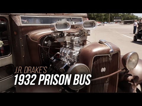 1932 Prison Bus Paddy Wagon