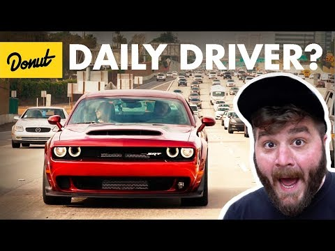 Dodge Demon – Commuting in an 840hp Muscle Car | The New Car Show