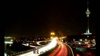 preview picture of video 'Time-Lapse - Tehran Traffic (Tehran Milad Tower)'