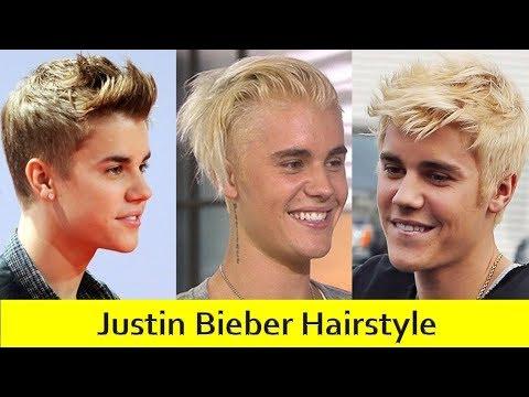 Justin Bieber Hairstyle Evolution 2009-2017   Haircut Names