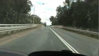 preview picture of video 'Hay New South Wales Australia A Drive Through'