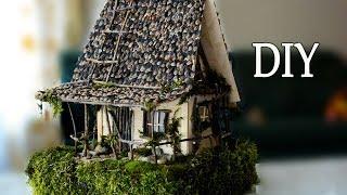 DIY How To Make A Fairy House