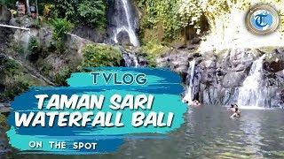 VLOG  Menikmati Kesejukan Taman Sari Waterfall di Bali