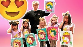EVERLEIGH AND AVA HAVE A SECRET VALENTINE WITH CARSON LUEDERS!!!