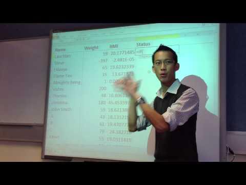 Spreadsheet DSS Example - YouTube