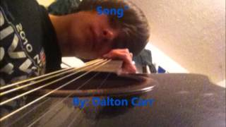 I Know You Don't Care About This Song By Dalton Carr