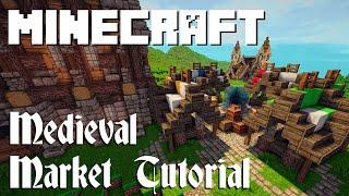 Minecraft Tutorial: Medieval Market