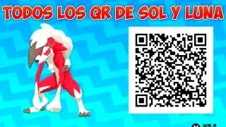 TODOS Los QR De POKÉMON SOL Y LUNA - POKÉDEX COMPLETA Con SHINIES