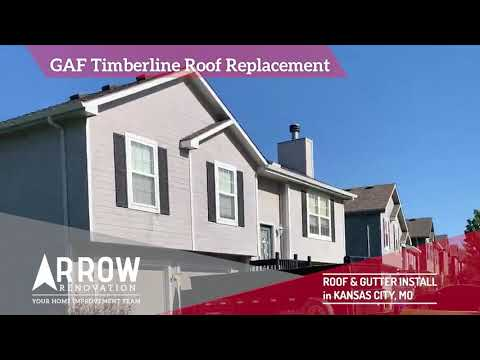 Roof Replacement and Gutter Installation in Kansas City, MO