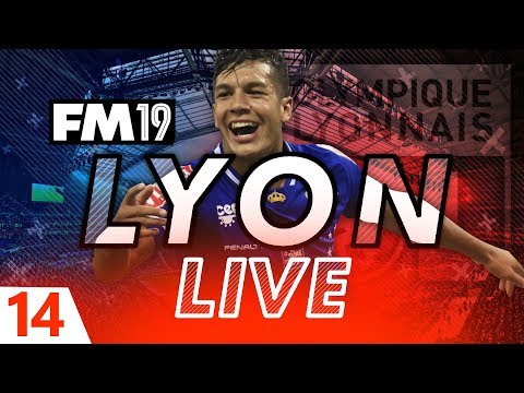 Football Manager 2019 | Lyon Live #14: £7m Panic Buy? #FM19