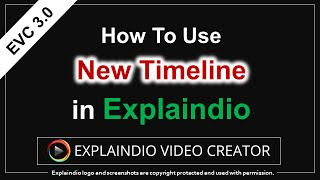 How to Use Timeline in Explaindio 3.0