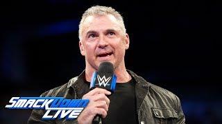 Shane McMahon addresses SmackDown's raid of Raw: SmackDown LIVE, Oct. 24, 2017