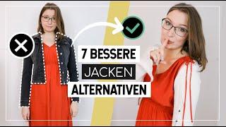 Welche Jacke zu KLEID oder ROCK kombinieren? 7 bessere Alternativen zur Jeans- und Lederjacke