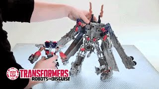 Transformers - Optimus Prime MechTech - Vehicle to Robot Instructional Video