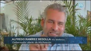 Alfredo Ramírez Bedolla asegura que Silvano Aureoles está preocupado por la deuda en Michoacán