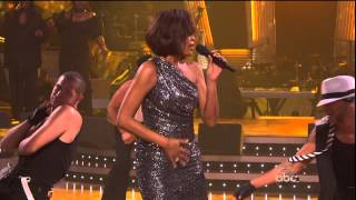 Whitney Houston Million dollar bill (Live at Dancing with the stars 24.11.2009) HD