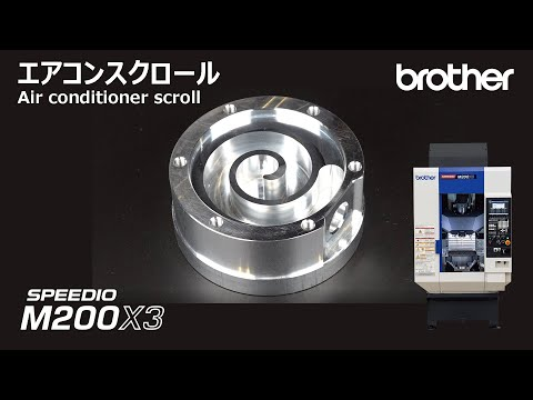 M200X3 Scroll compressor for air conditioner