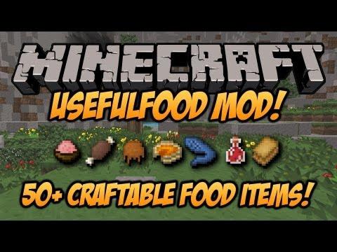 Minecraft Usefulfood Mod - [1.6.4] - Craft Yourself A Meal! - Mod Spotlight