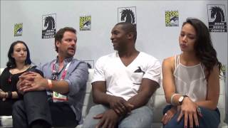 Джодель Ферланд, Interview with DARK MATTER Cast at SDCC 2015