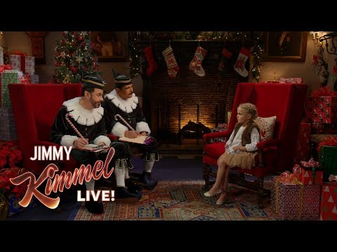Naughty or Nice with Jimmy and Guillermo