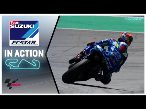Suzuki in action: Gran Premi Monster Energy de Catalunya