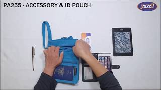 PA255 Accessory & ID Case   Yazzii Travel Bags