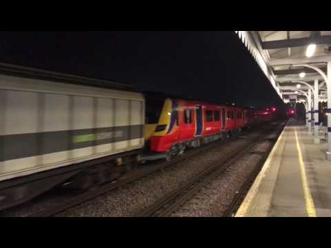 ROG 47848 & 47812 pass Paddock Wood with brand new 707009 & …