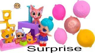 Sand Toy Surprise ! LOL Surprise Help Animals At Pet Store Shop