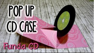POP UP CD/DVD SLEEVE - FUNDA CD/DVD POP UP