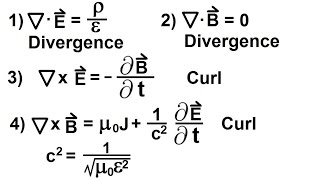 Physics - E&M: Maxwell's Equations (8 of 30) Differential Form