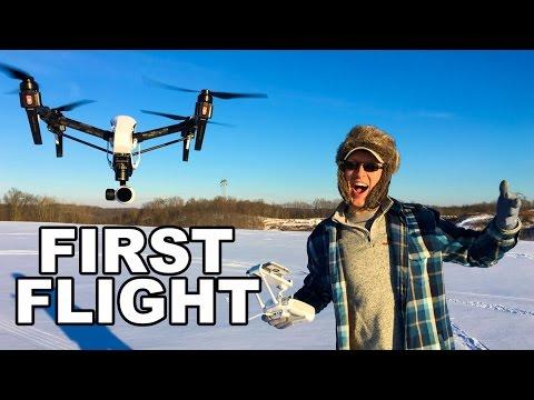DJI Inspire 1 First Flight - Raw First Flight Experience - Uncut - TheRcSaylors