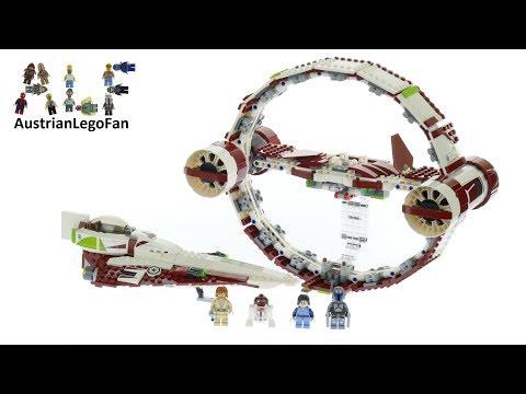 Vidéo LEGO Star Wars 75191 : Jedi Starfighter avec hyperdrive
