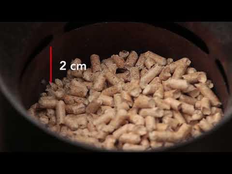 Barbacoa de pellets portátil - Interdix