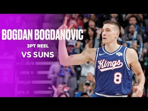 Bogdan Bogdanovic Hits 7 3-Pointers, Drops Career-High 31 PTS In Win Over Phoenix Suns