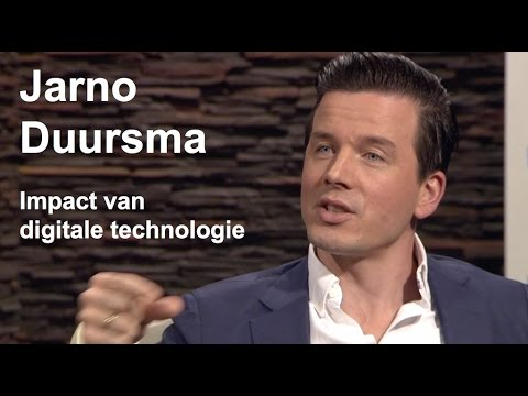 Jarno Duursma - de toekomst van digitale technologie