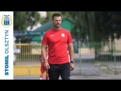 Adrian Stawski po sparingu Stomil Olsztyn - Sokół Ostróda 2:0