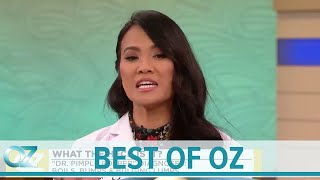 Dr. Pimple Popper Demonstrates How to Remove an Ingrown Hair - Best of Oz Collection