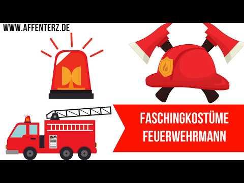 Faschingskostüme Feuerwehrmann für Kinder - für kleine Helden auch zu Fasching