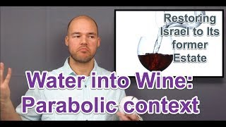 Water Into Wine: Hidden Meaning
